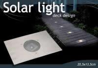 4x LED EDELSTAHL SOLARLAMPE BODENSTRAHLER BODENLEUCHTE